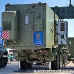 кабина управления КУ РЛК-Е комплекса 55Ж6МЕ Небо-МЕ на Авиасалоне МАКС-2013 - 1