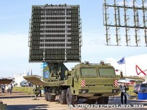 радиолокационный модуль дециметрового диапазона волн РЛМ-ДЕ комплекса 55Ж6МЕ Небо-МЕ на Авиасалоне МАКС-2013 - 4