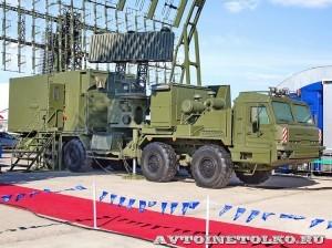 кабина управления КУ РЛК-Е комплекса 55Ж6МЕ Небо-МЕ на Авиасалоне МАКС-2013 - 4