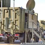 Пункт боевого управления 50К6Е на шасси КамАЗ из состава ЗРК С-350Е Витязь на Авиасалоне МАКС-2013 - 3