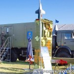 мобильный тренажер 9Ф678М на шасси КамАЗ-6350 из состава ЗРК Тор-М2Э(МК) на Авиасалоне МАКС-2013 -3