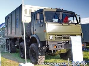 мобильный тренажер 9Ф678М на шасси КамАЗ-6350 из состава ЗРК Тор-М2Э(МК) на Авиасалоне МАКС-2013 -4