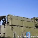 Автономный боевой модуль 9А331МК-1 из состава ЗРК Тор-М2КМ на шасси Tata на Авиасалоне МАКС-2013 - 3
