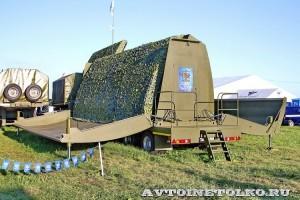 передающий пост мобильной специализированной радиолокационной станции Демонстратор на Авиасалоне МАКС-2013 - 4