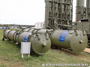 Ракеты 9М83МЭ и 9М82МЭ комплекса С-300ВМ Антей-250 на Авиасалоне МАКС-2013