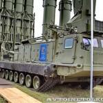 пусковая установка 9А83МЭ с ракетами 9М83МЭ комплекса С-300ВМ Антей-250 на Авиасалоне МАКС-2013 -2
