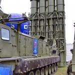 пусковая установка 9А83МЭ с ракетами 9М83МЭ комплекса С-300ВМ Антей-250 на Авиасалоне МАКС-2013 -4