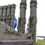 пуско-заряжающая установка 9А84МЭ с ракетами 9М82МЭ комплекса С-300ВМ Антей-250 на Авиасалоне МАКС-2013 - 4