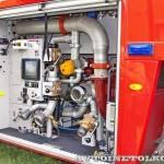 новый аэродромный пожарный автомобиль Oshkosh Striker 3000 для Внуковского аэропорта на авиасалоне МАКС-2013 - 19