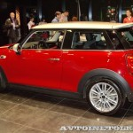 презентация нового MINI HATCH в Авилоне - 34