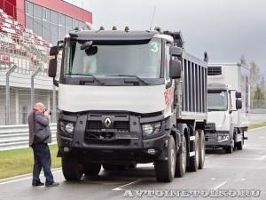 презентация нового модельного ряда Renault Trucks