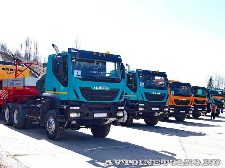 Новый IVECO Trakker на Дмитровском полигоне - 2