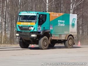 Новый IVECO Trakker на Дмитровском полигоне - 5