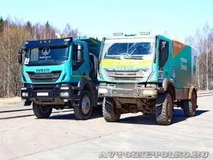 Новый IVECO Trakker на Дмитровском полигоне - 6