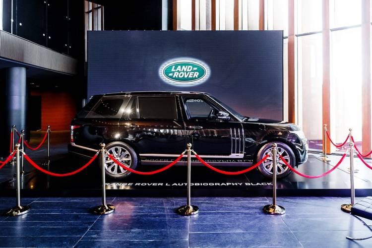 Презентация нового Range Rover c удлиненной базой - 3