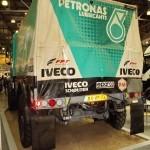 Победитель ралли Париж-Дакар IVECO Strator на выставке СТТ 2012 - 6