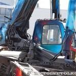 """автокран """"Небесный странник"""" Челябинец КС-65717 на выставке СТТ 2013 - 3"""
