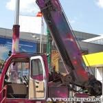 """автокран """"Посланник космоса"""" Челябинец КС-55732 на выставке СТТ 2013 - 4"""
