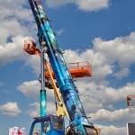 """автокран """"Небесный странник"""" Челябинец КС-65717 на выставке СТТ 2013 - 6"""