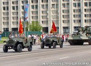 День Победы парад на Красной площади 2010 год