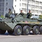 бронетранспортер БТР-80 на параде 9 мая 2014 года в Москве - 2