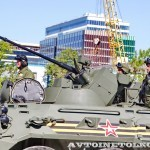 бронетранспортер БТР-82А на параде 9 мая 2014 года в Москве - 1