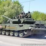 танк Т-90А на параде 9 мая 2014 года в Москве - 3
