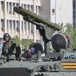 боевая машина 9П157-2 комплекса Хризантема-С на параде 9 мая 2014 года в Москве - 1