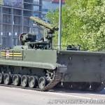 боевая машина 9П157-2 комплекса Хризантема-С на параде 9 мая 2014 года в Москве - 2