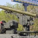 боевая машина 9П157-2 комплекса Хризантема-С на параде 9 мая 2014 года в Москве - 3