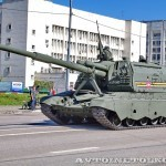 самоходная артиллерийская установка Мста-С на параде 9 мая 2014 года в Москве - 1