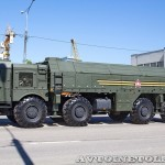 пусковая установка 9П78-1 ракетного комплекса Искандер-М на параде 9 мая 2014 года в Москве - 1