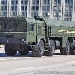 пусковая установка 9П78-1 ракетного комплекса Искандер-М на параде 9 мая 2014 года в Москве - 2