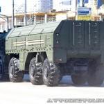 пусковая установка 9П78-1 ракетного комплекса Искандер-М на параде 9 мая 2014 года в Москве - 3