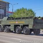 транспортно-заряжающая машина 9Т250−1 ракетного комплекса Искандер-М на параде 9 мая 2014 года в Москве - 2