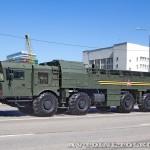 транспортно-заряжающая машина 9Т250−1 ракетного комплекса Искандер-М на параде 9 мая 2014 года в Москве - 4