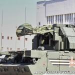радиолокационная машина обнаружения целей 9А331-1 комплекса Тор-М2У на параде 9 мая 2014 года в Москве - 1