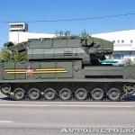 радиолокационная машина обнаружения целей 9А331-1 комплекса Тор-М2У на параде 9 мая 2014 года в Москве - 2