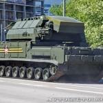 радиолокационная машина обнаружения целей 9А331-1 комплекса Тор-М2У на параде 9 мая 2014 года в Москве - 4