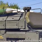 самоходная огневая установка 9А317 комплекса ПВО Бук-М2 на параде 9 мая 2014 года в Москве - 4