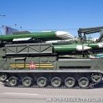 пуско-заряжающая установка 9А316 комплекса ПВО Бук-М2 на параде 9 мая 2014 года в Москве - 1