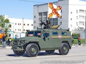 ГАЗ-233014 Тигр на параде 9 мая 2014 года в Москве - 3