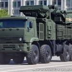 Зенитный ракетно-пушечный комплекс Панцирь-С1 на параде 9 мая 2014 года в Москве - 3