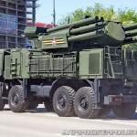 Зенитный ракетно-пушечный комплекс Панцирь-С1 на параде 9 мая 2014 года в Москве - 4