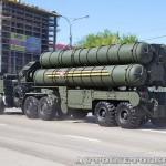 пусковая установка зенитно-ракетной системы С-400 Триумф на параде 9 мая 2014 года в Москве - 3