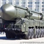 пусковая установка ракетного комплекса Тополь-М на параде 9 мая 2014 года в Москве - 3