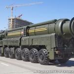 пусковая установка ракетного комплекса Тополь-М на параде 9 мая 2014 года в Москве - 4