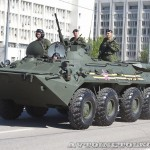 бронетранспортер БТР-80 на параде 9 мая 2014 года в Москве - 3