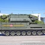 радиолокационная машина обнаружения целей 9А331-1 комплекса Тор-М2У на параде 9 мая 2014 года в Москве - 6