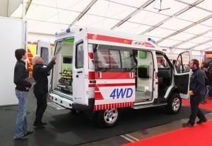 Автомобили скорой помощи ПромТех Самотлор НН на выставке RETTmobil 2014 - 2